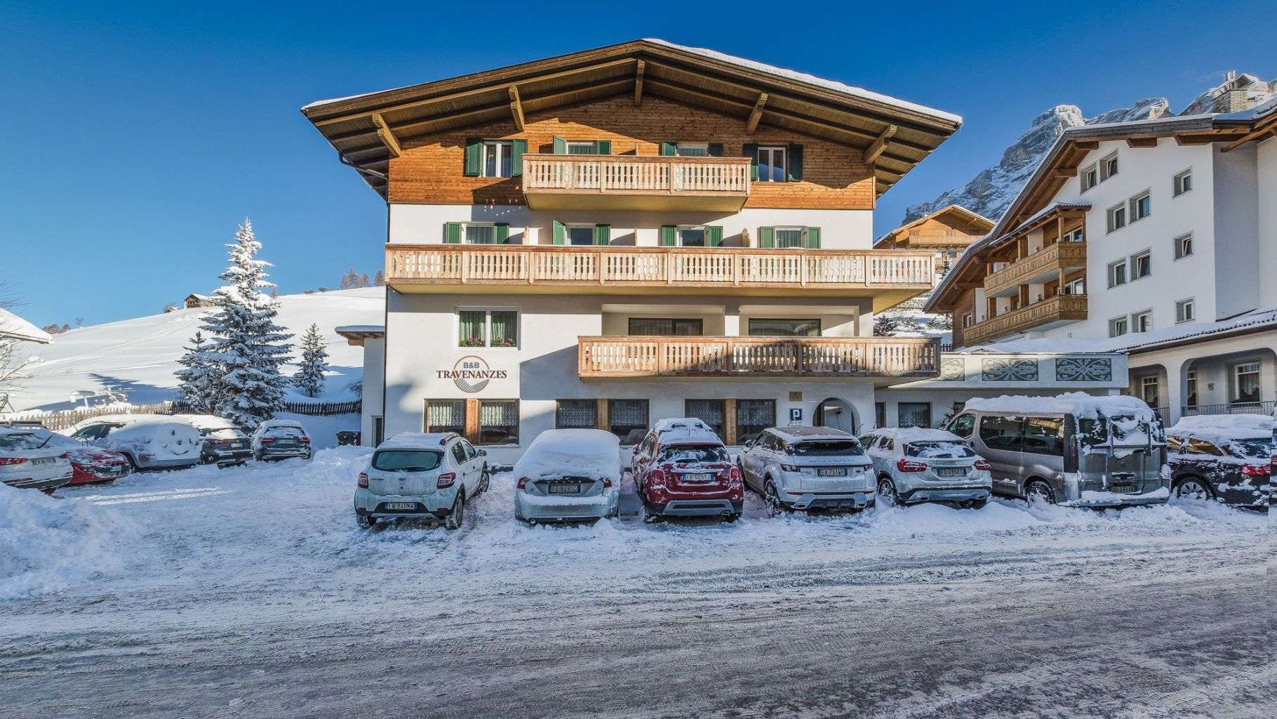 Pension Travenanzes in Alta Badia
